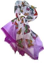 Ganz Colorful Butterfly Scarf