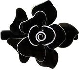 Smallflower Moliabal Milano Black Flower Barrette