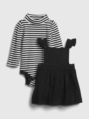 Gap Baby Velvet Skirtall Outfit Set