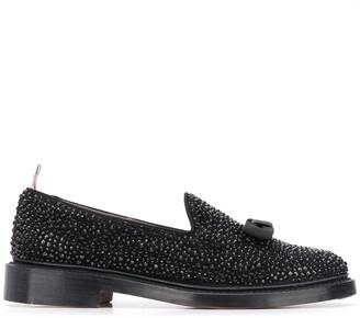 Thom Browne Opera embellished loafers