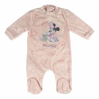 ARTESANIA CERDA Baby_Girl's Pelele Velour Minnie Footies