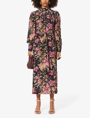 Zimmermann Lucky floral-print silk midi dress