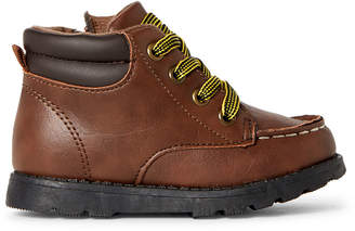 Carter's Toddler Boys) Brown Brand Lace-Up Boots