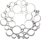 CB2 Galvanized Bubble Wreath