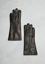 Dries Van Noten Black Gloves