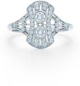 Kwiat Women's Vintage Oval Diamond Ring