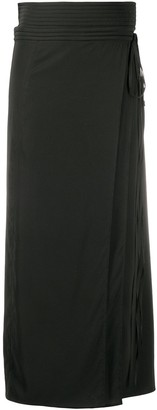 Lemaire High-Waisted Wrap Skirt