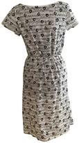 agnès b. Beige Cotton Dress for Women