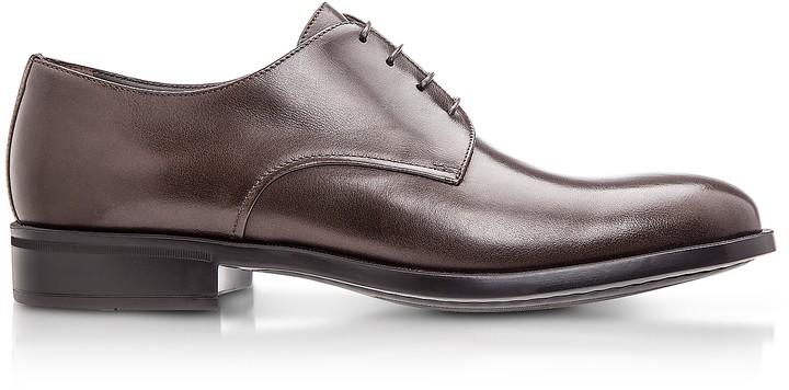 Moreschi Cork Brown M Buffalo Leather Derby Shoes