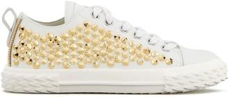 Giuseppe Zanotti Studded Lace-Up Sneakers