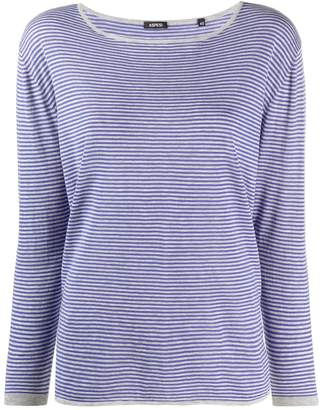 Aspesi Striped Long-Sleeve Top