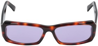 Andy Wolf Omar Squared Acetate Sunglasses