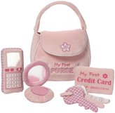 Gund Baby My First Purse Playset Toy - Pink - 9.5 in.