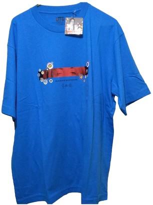 Takashi Murakami Blue Cotton T-shirts