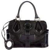 Balenciaga Suede & Leather Handle Bag