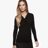 James Perse Cowl Neck Shirt