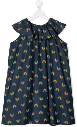 Stella McCartney Rainbow Print Dress