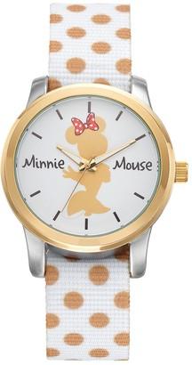 Disney Disney's Minnie Mouse Women's Polka Dot Reversible Watch
