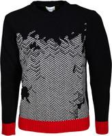 Iceberg Ribbed Knit Sweater