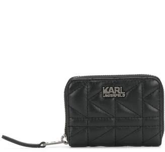 Karl Lagerfeld Paris K/Kuilted zip wallet