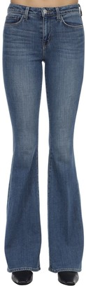 L'Agence Bellhigh Rise Flared Cotton Denim Jeans
