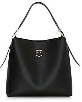 Furla Women's Medium Belvedere Leather Hobo Bag