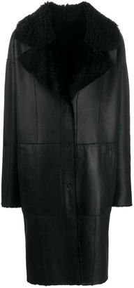 Drome Reversible Hooded Coat