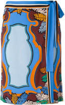 Emilio Pucci printed wrap skirt