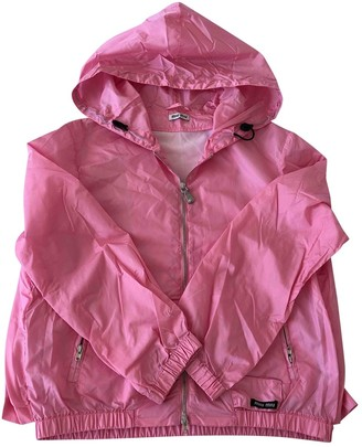 Miu Miu Pink Trench Coat for Women
