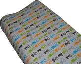 Go Mama Go Designs Tractor Trails Changing Pad Cover