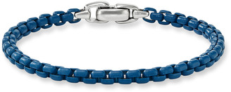 David Yurman Men's Acrylic-Coated Box Chain Bracelet, 5mm