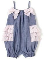 Bonnie Jean Infant Girls Chambray Romper