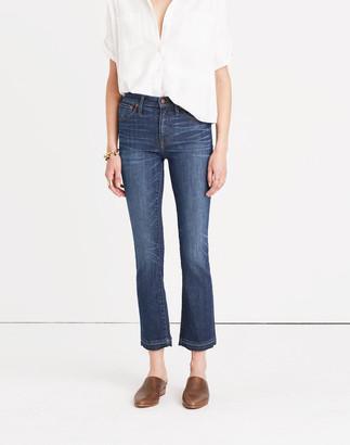Madewell Tall Cali Demi-Boot Jeans in Mitchell Wash: Drop-Hem Edition