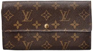 Louis Vuitton Monogram Canvas Porte Monnaie Credit Wallet