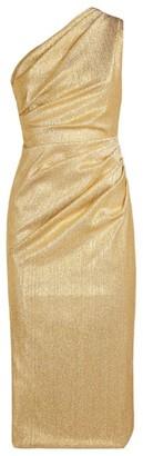 Dolce & Gabbana One-Shoulder Midi Dress