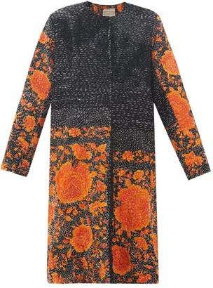 By Walid Tanita 19th-century Silk Coat - Womens - Black Orange