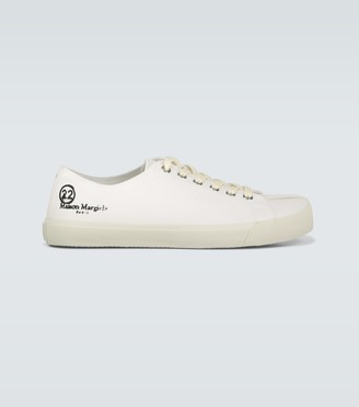 Maison Margiela Low Tabi canvas sneakers