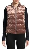 Calvin Klein Quilted Velvet Vest