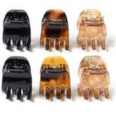Riviera 6-pc. Mini Claw Hair Clip Set