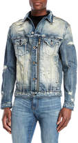 Cult of Individuality Fillmore Distressed Denim Jacket