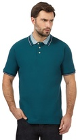 Maine New England Green Jacquard Polo Shirt