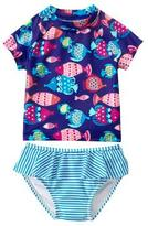 Gymboree Fish Rashguard Set
