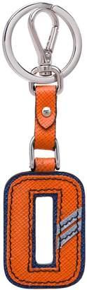 Prada letter-shaped keychain