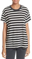 The Great 'The Boxy Crew' Stripe Jersey Tee