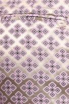 Elizabeth and James Black Tristan Brocade Shorts in Violet