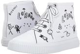 Burberry Warslow Scribble Kids Shoes