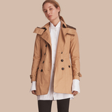 Burberry Hooded Trench Coat with Warmer
