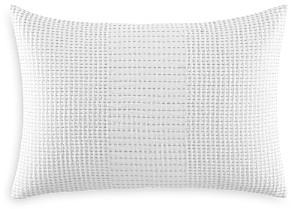 Vera Wang Blocked Running Stitch Decorative Pillow, 15 x 22 - 100% Exclusive
