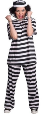 BuySeasons Buy Seasons Women's Female Prisoner Costume
