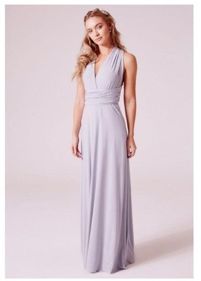 Revie London Alexis Multiway Maxi Dress in Dove Grey